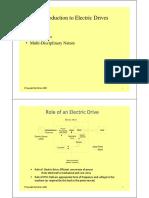 Electric Drives Class slide
