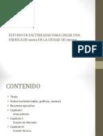 Formato factibilidad de proyectos