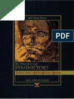 EL DELITO DE FEMINICIDIO-Autor Guillermo Haro