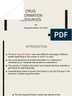 DRUG INFORMATION RESOURCES.pptx