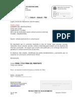 1DS-OF-0001 COMUNICACIÓN OFICIAL