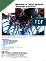 Piercing the Heavens_ N. Jolly's guide to the Pathfinder Warpriest