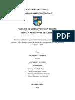 TRABAJO DE INVESTIGACION - QUECHUA-UNASAM