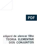 Teoria Elementar Dos Conjuntos - Edgard Alencar
