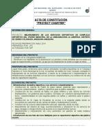 01.00 ACTA DE CONSTITUCION