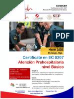 Info CONOCER EC0307 Atencion Ph