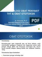 Farmakologi Obat di Bid. THT-KL