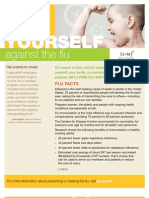 Arm yourself against the flu