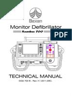 Bexen Reanibex 700 Defibrillator - Technical manual.pdf