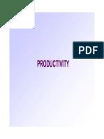 1 productivity