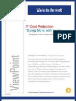 IT Cost Reduction Pov