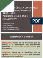 cinematica-y-dinamica