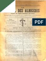 Revue Réveil des Albigeois no1 1900