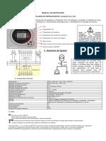 Manual Medidor de Fator de Potencia Siemens