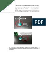 INFORME TECNICO DE DEVOLUCION DE MATERIALES PARA EL ÁREA ELECTRICA
