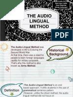 AUDIO LINGUAL METHOD- TLS