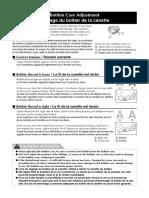 Manual de instruções para caixa de bombina