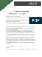 1.1_Mercado de las Tasaciones, definiciones y Conceptos