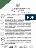 RSG N° 302-2019-MINEDU GESTION DE RIESGOS
