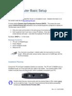 TP Link Router Basic Setup