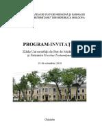 Programul Conferinţei ştiinţifice anuale, 16-18 octombrie.pdf
