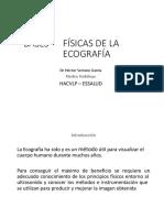 BASES FISICAS DE ECOGRAFIA