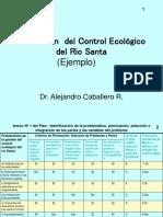 Gestión del Control Ecológico del Rio Santa - Ejemplo- Dr Caballero