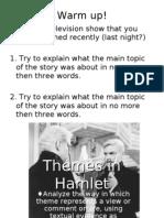 Themes in Hamlet[1]