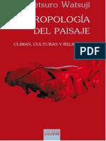 Antropologia del paisaje
