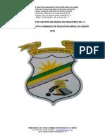 PLAN GESTION DE RIESGOS 2018 GIMNASIO DE QUIBDÓ