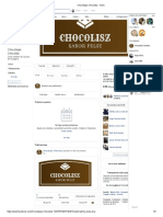 Chocotejas Chocolisz - Inicio