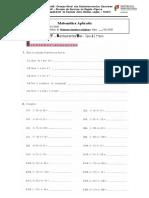 Ficha de trabalho-números inteiros relativos-Cef-T2