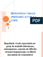 Hepatitele virale (primare) acute la copii 08.2013 - format 97-03.ppt