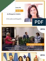 Aportes de Margarita Cedeño para la Integración Social