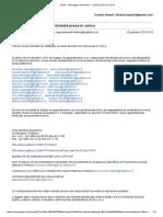 Indirizzi mail e modalità invio doc digitale comando Milano