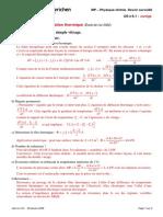 DS 5-1-Diffusion thermique (Ecole de l air 2002)-corrige