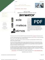 Eole-Meteos-Atmos Wind Meters