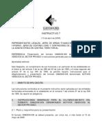 INSTRUCTIVO 7 - FORMATO CGN2009.009