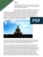 Online Meditation Music