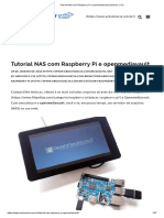 Tutorial  OMV  com RASPBERRY PI