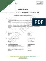 FICHA TECNICA REPELENTE ECOLOGICO CONTRA INSECTOS SPRAY - ESP