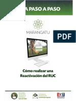 Guia Paso a Paso Nuevo Marangatu - Cómo realizar una Reactivación del RUC (1)