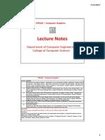 CPE325 CG Lecture 1