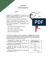 HISTORIA DE TAHUANTINSUYO