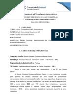 Relatório de Estágio Fundamental II - Josimar