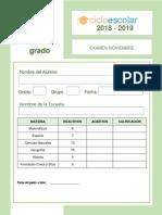 Examen_Noviembre_Cuarto_grado_2018-2019