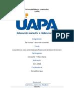 Tarea VII Los Problemas Socio-Ambientales y Su Repercusión en Desarrollo Humano