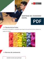PPT - IDENTIDAD DEL CIUDADANO DIGITAL ACTUAL