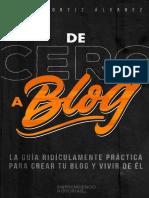 Ebook Blog desde Cero