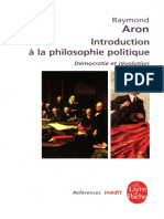 Aron, Raymond - Introduction a la Philosophie Politique